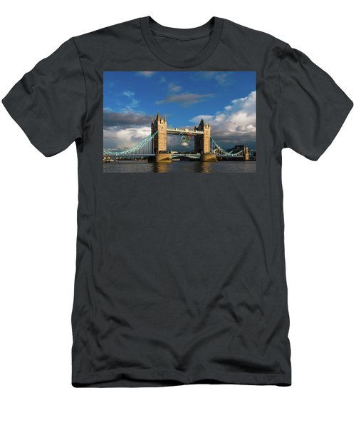 Men's T-Shirt (Athletic Fit) featuring the photograph Tower Bridge by Stewart Marsden