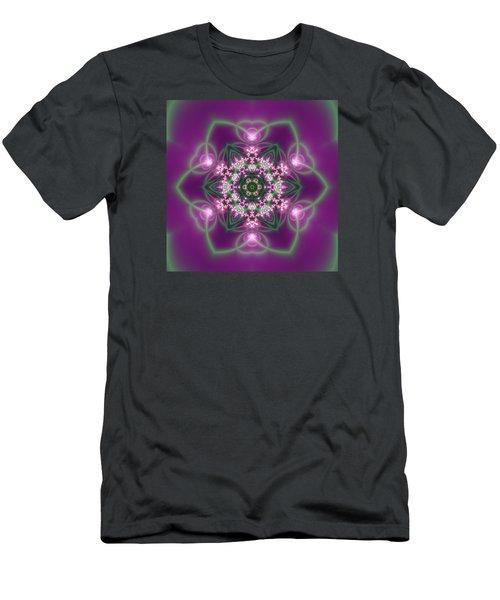 Transition Flower 6 Beats 3 Men's T-Shirt (Slim Fit) by Robert Thalmeier