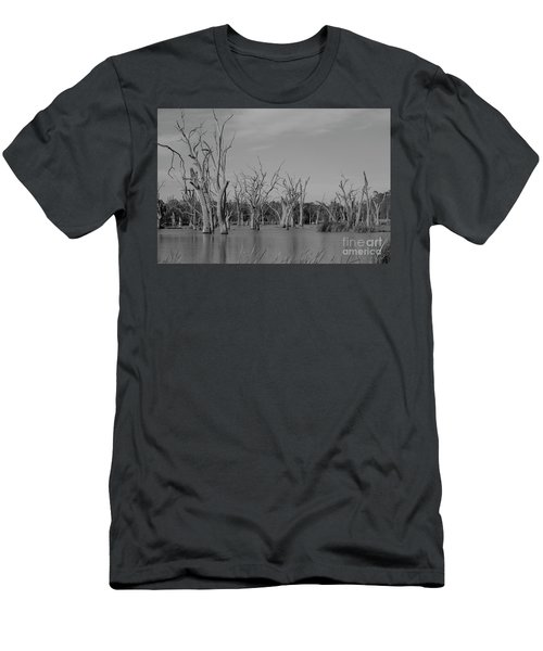 Tree Cemetery Men's T-Shirt (Slim Fit) by Douglas Barnard