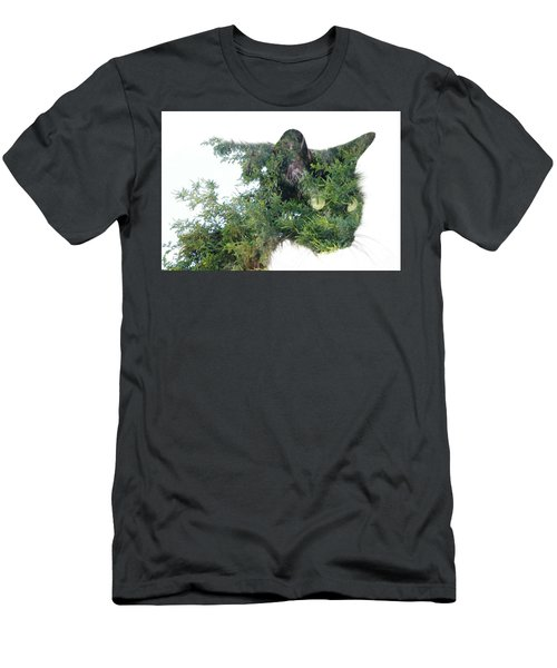 Tree Cat Men's T-Shirt (Athletic Fit)
