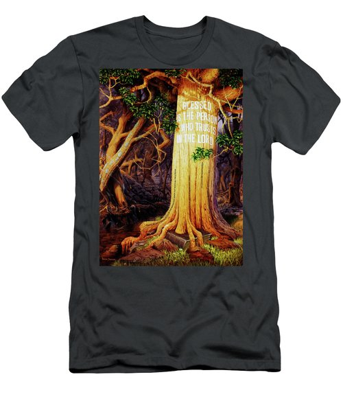 Trust In The Lord Men's T-Shirt (Athletic Fit)