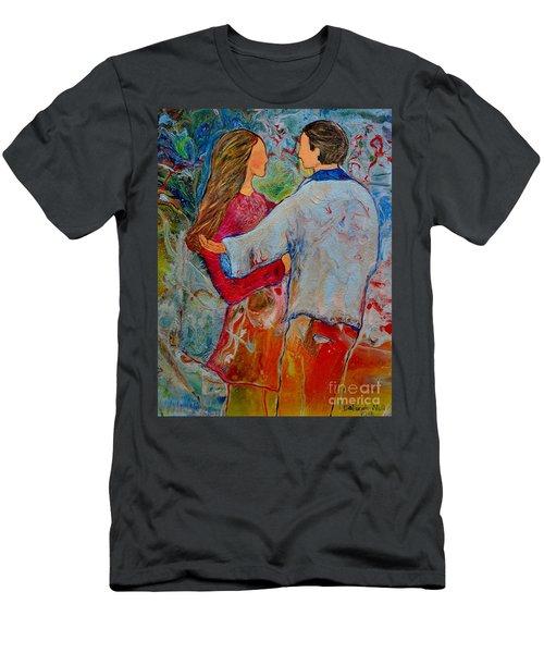 Trusting You Men's T-Shirt (Athletic Fit)