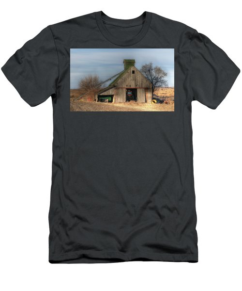 Tucked  Away In Rural Iowa Men's T-Shirt (Athletic Fit)