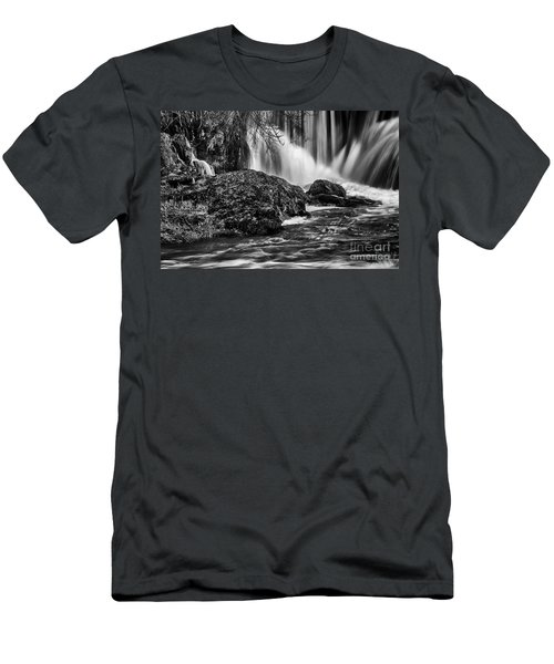 Tumwater Falls Park#1 Men's T-Shirt (Athletic Fit)