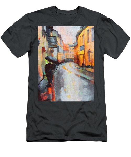 Under The Rain Men's T-Shirt (Athletic Fit)