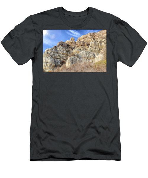 Unstable Cliffs Men's T-Shirt (Athletic Fit)