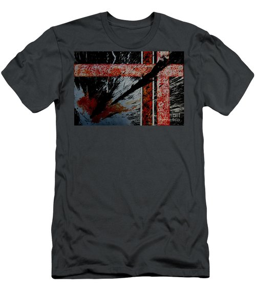 Fencing-2 Men's T-Shirt (Athletic Fit)