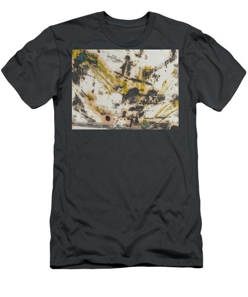 Men's T-Shirt (Slim Fit) featuring the painting Untitled  by Patrick Morgan