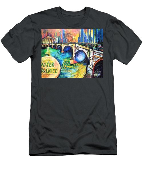 Van Gogh Today Men's T-Shirt (Athletic Fit)