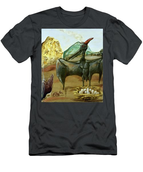 Men's T-Shirt (Athletic Fit) featuring the painting Vega by Ryan Demaree
