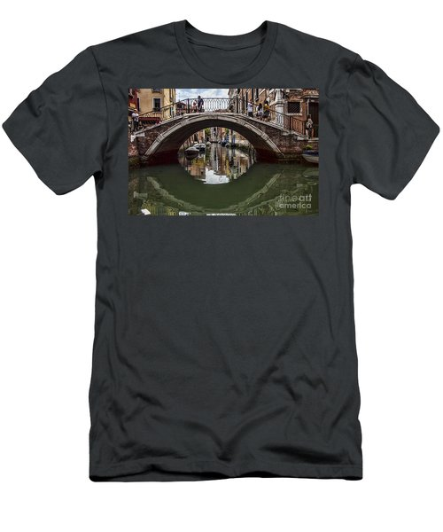 Men's T-Shirt (Slim Fit) featuring the photograph Venice by Shirley Mangini