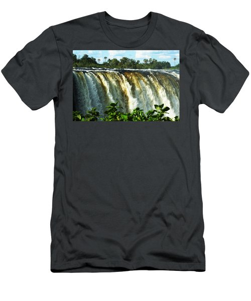 Victoria Falls Men's T-Shirt (Athletic Fit)