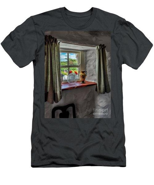 Victorian Window  Men's T-Shirt (Athletic Fit)