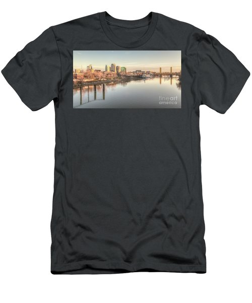 Waterfront Wonder  Men's T-Shirt (Athletic Fit)