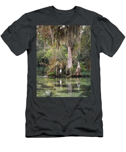Weeki Wachee River Men's T-Shirt (Athletic Fit)
