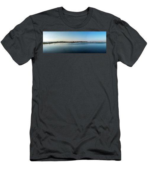 Wetlands Panorama  Men's T-Shirt (Athletic Fit)