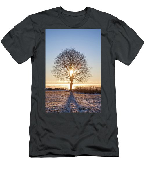 Men's T-Shirt (Slim Fit) featuring the photograph Whaleback Sunrise by Robert Clifford