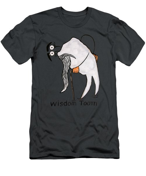Wisdom Tooth Men's T-Shirt (Slim Fit) by Anthony Falbo