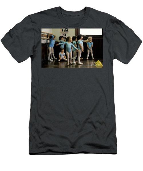 Young Ballet Dancers  Men's T-Shirt (Athletic Fit)