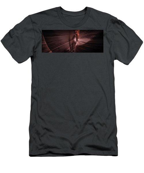 Zebra Canyon Men's T-Shirt (Athletic Fit)