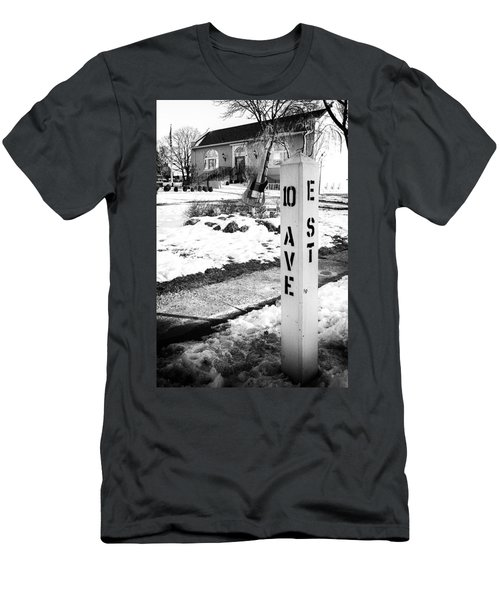 10 Ave And E St Belmar New Jersey Men's T-Shirt (Athletic Fit)