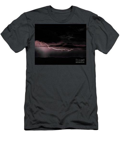 Lightning Men's T-Shirt (Athletic Fit)