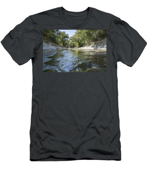 10 Mile Creek Men's T-Shirt (Slim Fit) by Ricky Dean