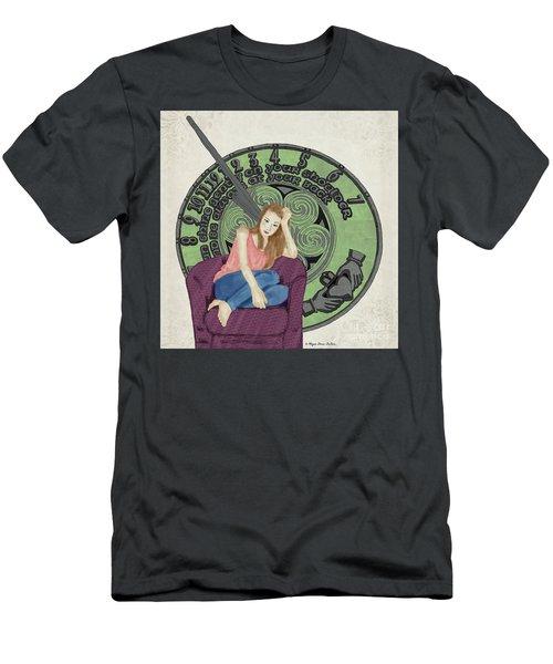 10 Months Men's T-Shirt (Slim Fit) by Megan Dirsa-DuBois