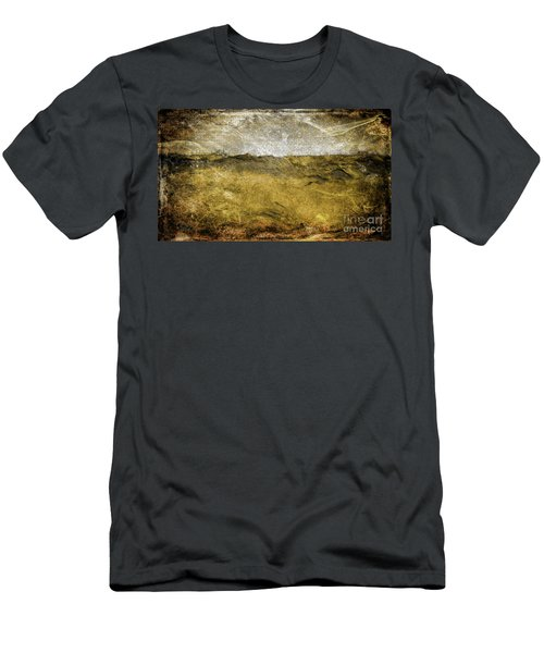 10b Abstract Expressionism Digital Painting Men's T-Shirt (Athletic Fit)