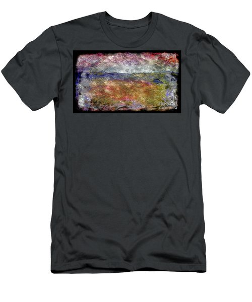 10c Abstract Expressionism Digital Painting Men's T-Shirt (Athletic Fit)