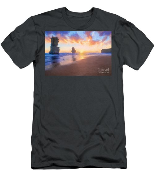 12 Apostles With Marshmallow Skies    Og Men's T-Shirt (Athletic Fit)