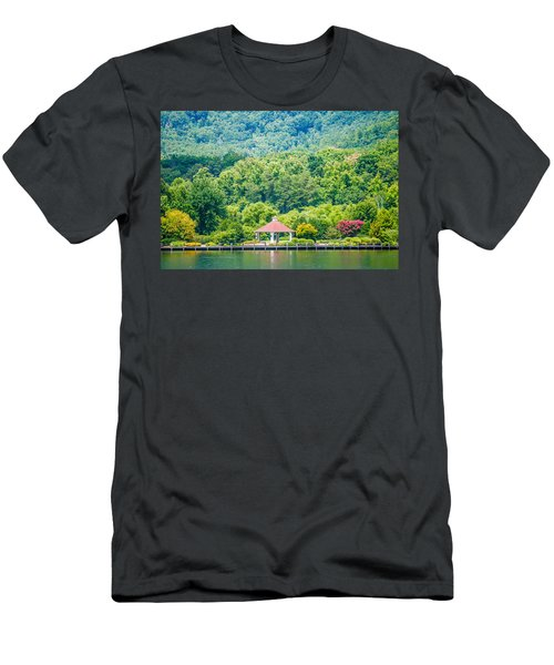 Scenery Around Lake Lure North Carolina Men's T-Shirt (Athletic Fit)
