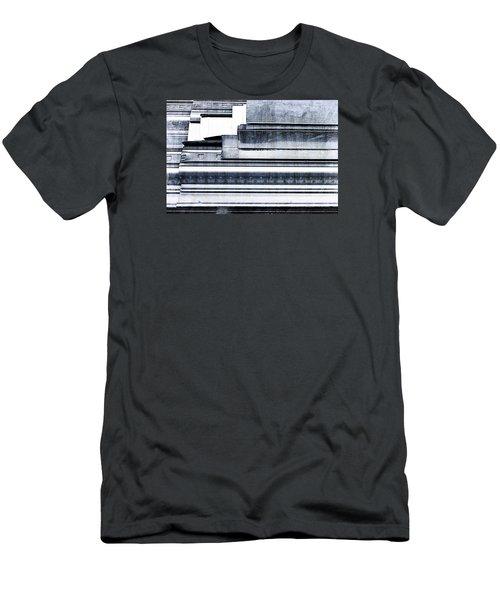 Metal Bars Men's T-Shirt (Athletic Fit)