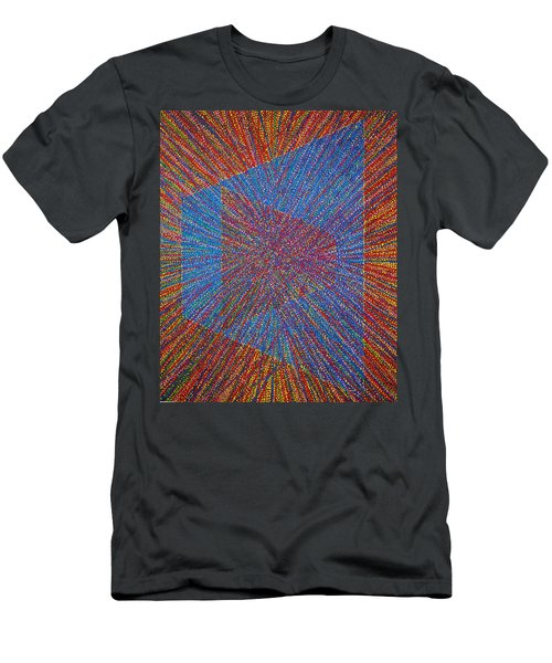 Mobius Band Men's T-Shirt (Slim Fit) by Kyung Hee Hogg