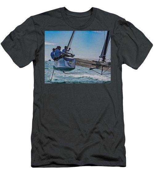 Watercolors Men's T-Shirt (Athletic Fit)