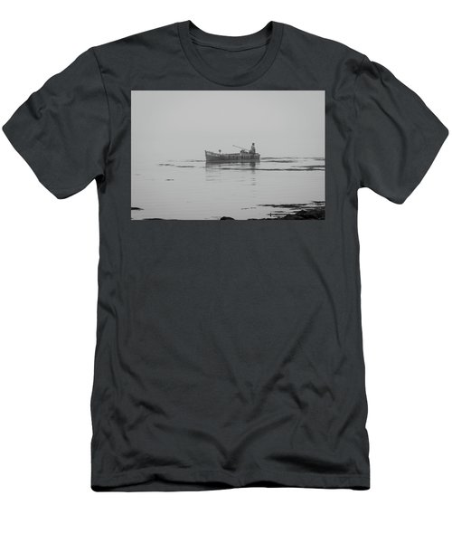 Down East Maine  Men's T-Shirt (Slim Fit) by Trace Kittrell