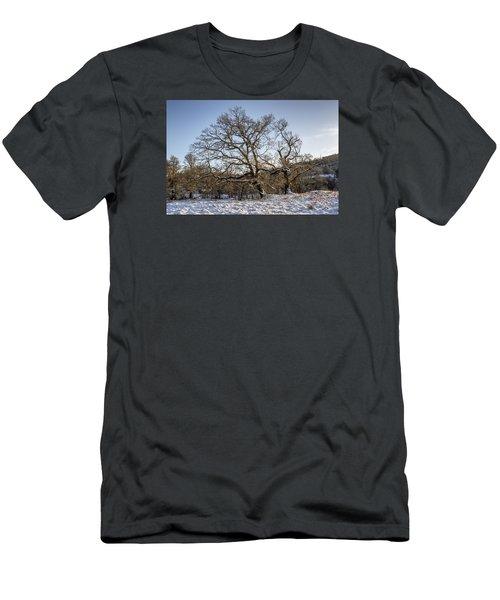 Trossachs Scenery In Scotland Men's T-Shirt (Athletic Fit)