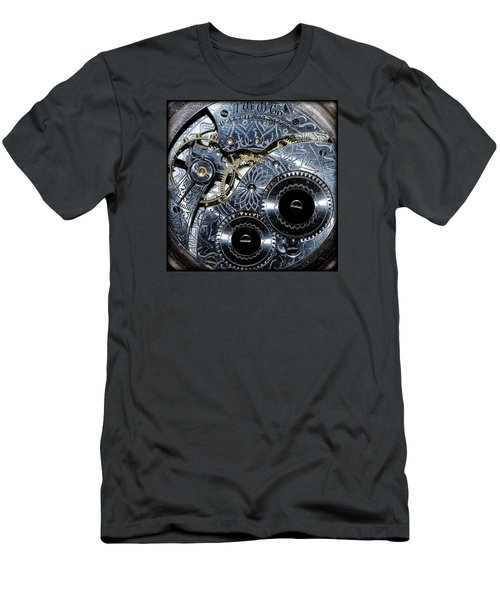 Men's T-Shirt (Slim Fit) featuring the photograph 17 Jeweled by Tammy Schneider