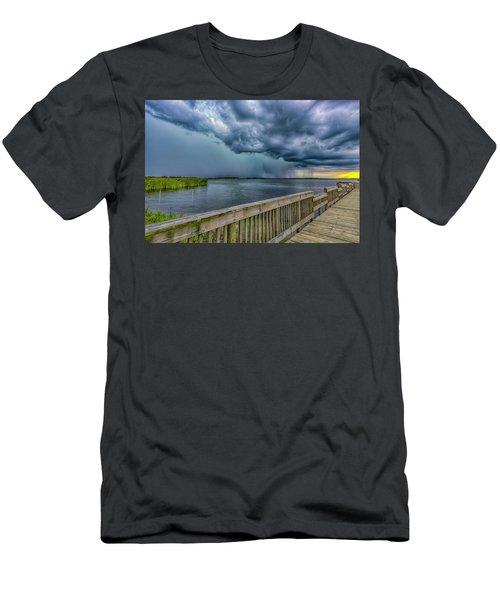 Storm Watch Men's T-Shirt (Athletic Fit)