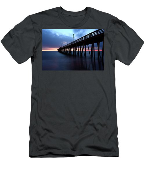 17th St. Virginia Beach, Va. Men's T-Shirt (Athletic Fit)