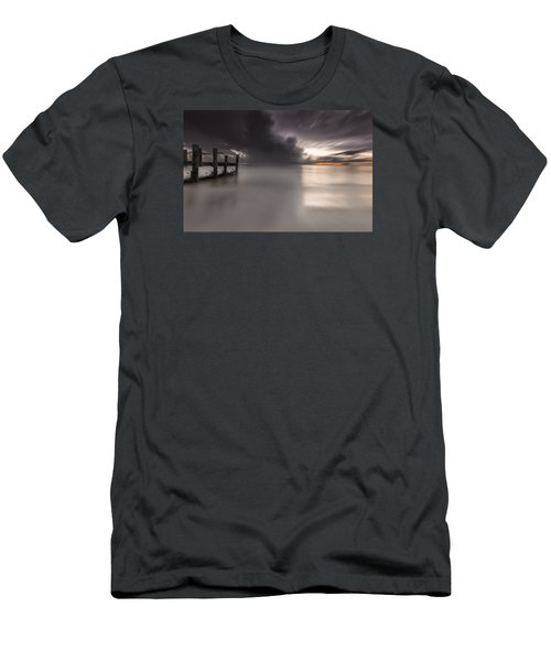 Sunst Over The Ocean Men's T-Shirt (Athletic Fit)