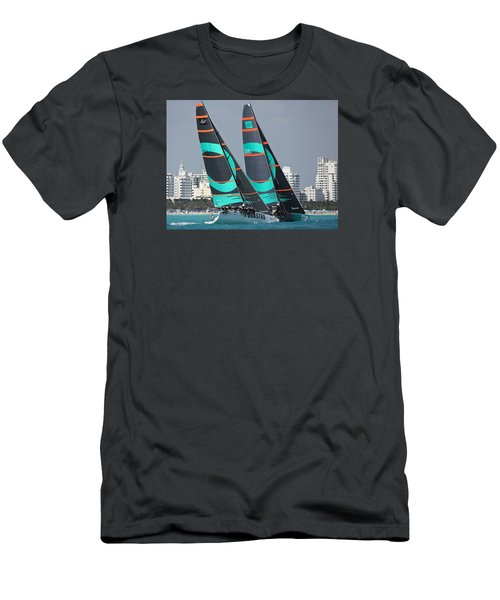 Miami Regatta Men's T-Shirt (Athletic Fit)