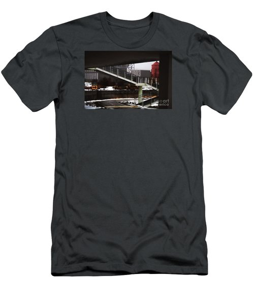 Men's T-Shirt (Slim Fit) featuring the digital art 1903 by David Blank