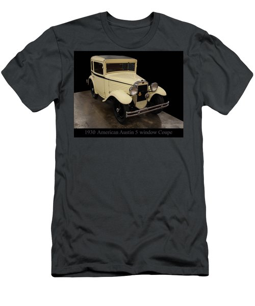 Men's T-Shirt (Slim Fit) featuring the digital art 1930 American Austin 5 Window Coupe by Chris Flees