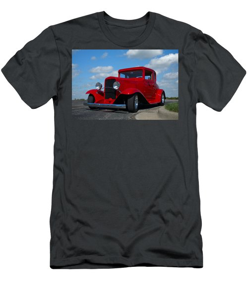1930 Chevrolet Coupe Hot Rod Men's T-Shirt (Athletic Fit)