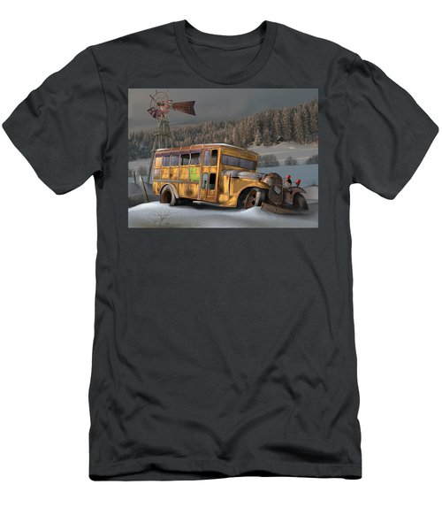 1931 Ford School Bus Men's T-Shirt (Athletic Fit)