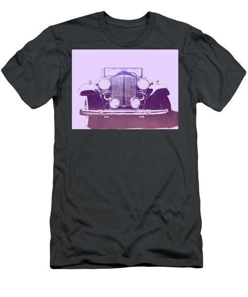 1932 Packard Pop Art Violet Gradient Men's T-Shirt (Athletic Fit)