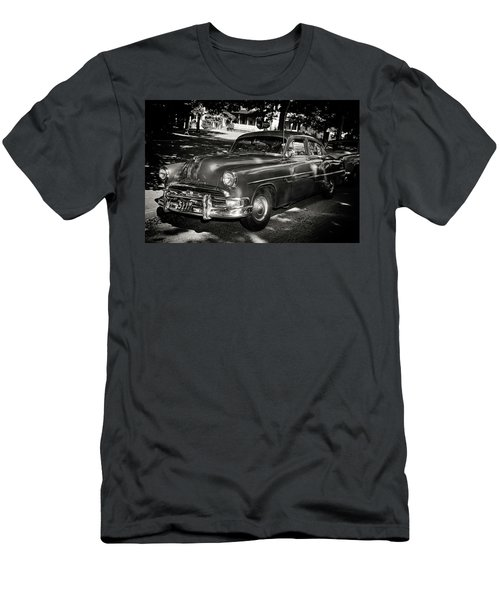 1940s Police Car Men's T-Shirt (Slim Fit) by Paul Seymour