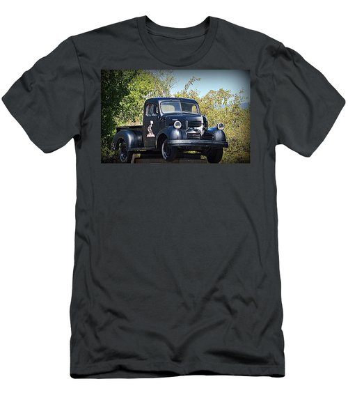 Men's T-Shirt (Athletic Fit) featuring the photograph 1941 Dodge Truck by AJ Schibig