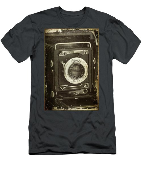 1949 Century Graphic Vintage Camera Men's T-Shirt (Athletic Fit)